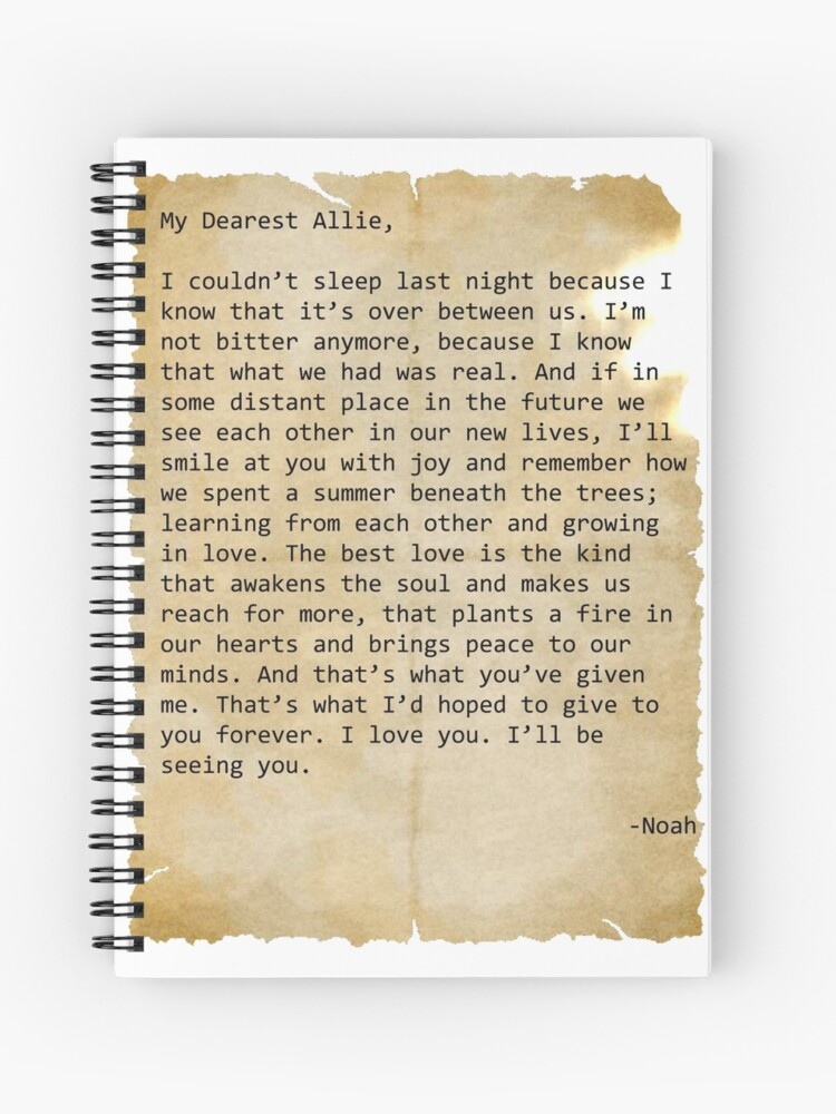 A Letter to Noah