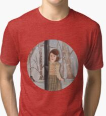 Lucy and the Lantern (Narnia) Tri-blend T-Shirt