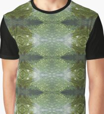 Green Swampy Dog X Graphic T-Shirt