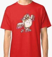 Wise Owl with Gel Pen Classic T-Shirt