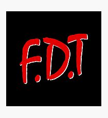 FDT Photographic Print