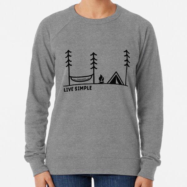 Live Simple Lightweight Sweatshirt