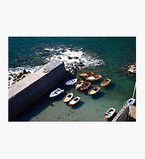 Naples Boats Photographic Print