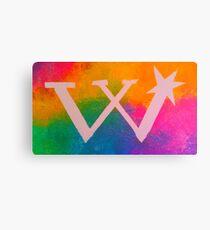 Rainbow Weasley Logo Canvas Print