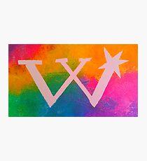 Rainbow Weasley Logo Photographic Print