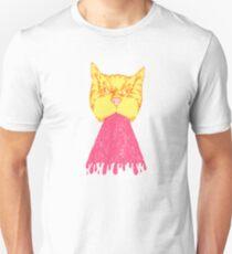 Pink Cat Vomit Unisex T-Shirt