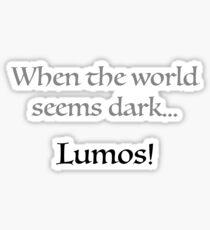 Lumos Sticker
