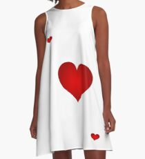 Queen of Hearts A-Line Dress