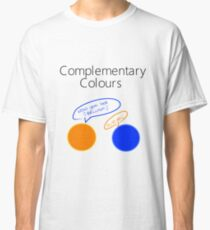Complementary Colours Pun Classic T-Shirt