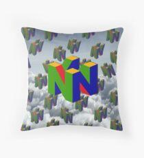 N64 Throw Pillow