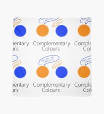 Complementary Colours Pun Scarf