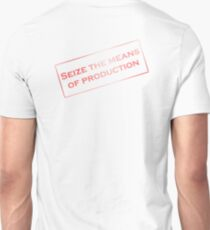Seize production communist stamp T-Shirt