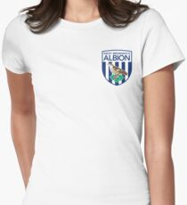 West Bromwich Albion FC Womens Fitted T-Shirt