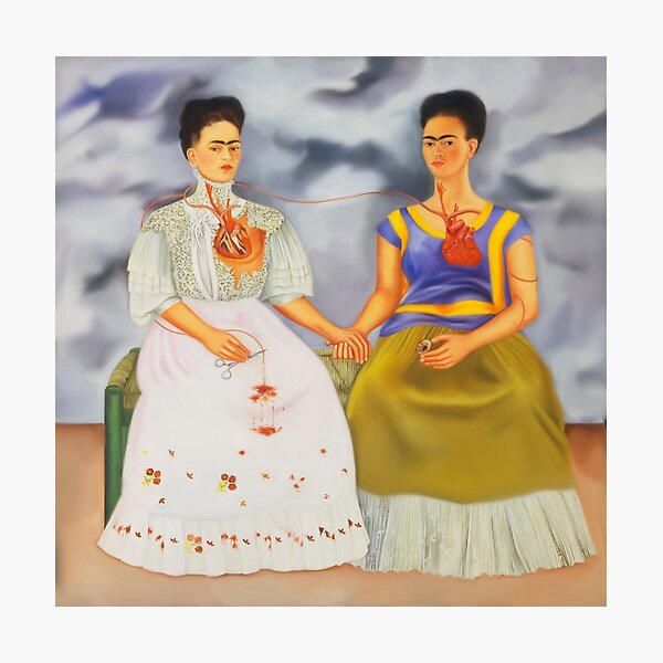The Two Fridas Photographic Print