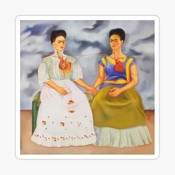Las dos Fridas Pegatina