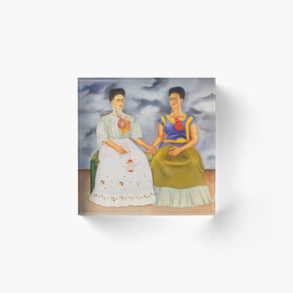 The Two Fridas Acrylic Block