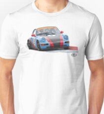 Porsche 964 Race Car by Robert Charles Designs T-Shirt