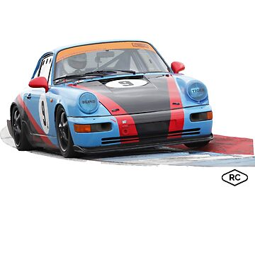 Porsche 964 Race Car by Robert Charles Designs by robertcharlesde