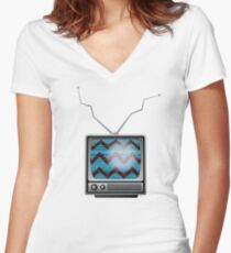 Technical difficulties Women's Fitted V-Neck T-Shirt