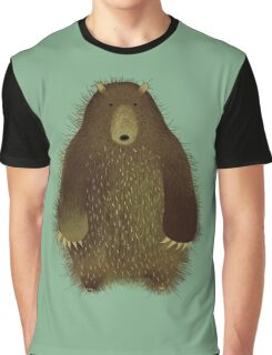 Barnsley the Big Bear. T-shirt Graphique