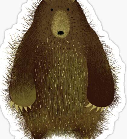 Barnsley the Big Bear. Sticker