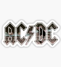 ACDC Angus Young Sticker