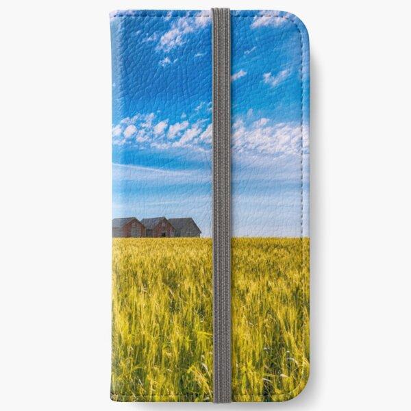 Summer On The Prairies iPhone Wallet
