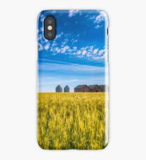 Summer On The Prairies iPhone Case/Skin