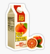 Pulp juice Sticker