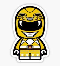 Yellow Power Chibi Ranger Sticker