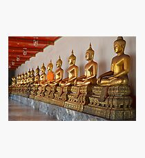 Wat Pho Buddhas Photographic Print