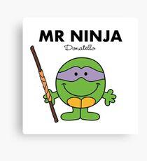 Mr Ninja Canvas Print