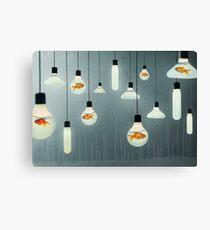 ideas and goldfish 04 Canvas Print