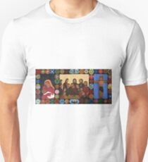 Triptych of the 12 apostles of Jesus and Maria T-Shirt