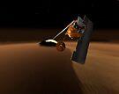 Konzept für Mars Volcanic Emission Life Scout. von StocktrekImages