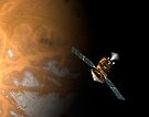 Ein Künstlerkonzept des Mars Reconnaissance Orbiter der NASA. von StocktrekImages