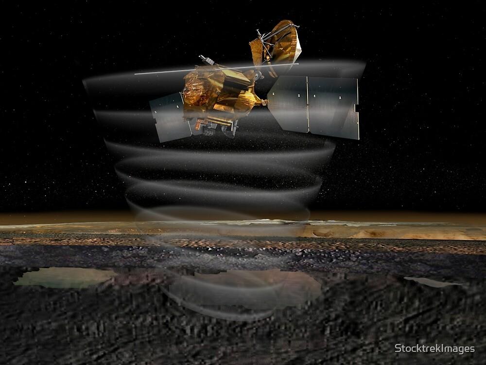 Mars Reconnaissance Orbiter Radar bei der Arbeit. von StocktrekImages