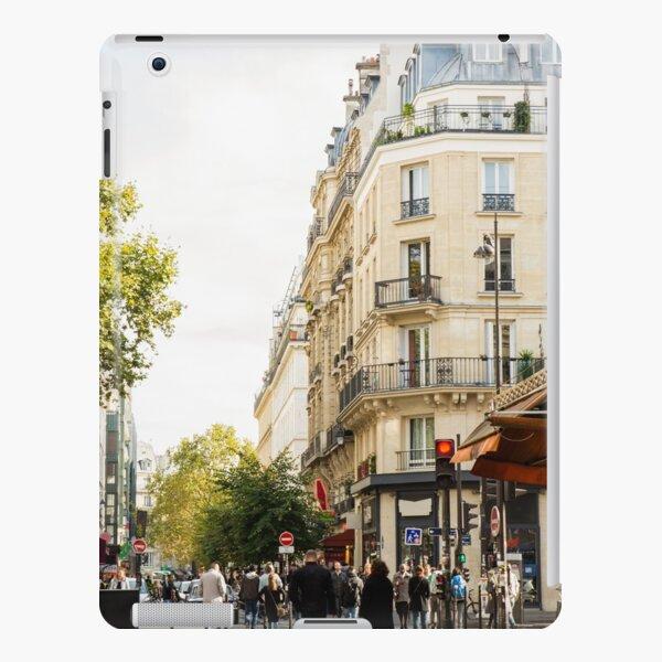 Walking through a parisian street iPad Snap Case
