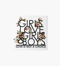 GIRLS/GIRLS/BOYS Art Board