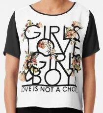 GIRLS/GIRLS/BOYS Chiffon Top