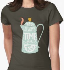 Tea saying Women's Fitted T-Shirt
