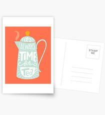 Tea saying Postcards