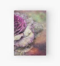 Winter Flowers Series - A Rose of Kale Hardcover Journal