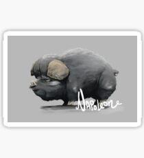 Animal Farm - Napoleon Sticker