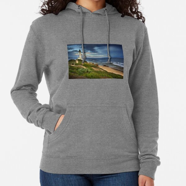 Point Lonsdale Lighthouse Lightweight Hoodie