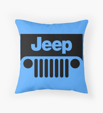Throw Pillows Kmart : Jeep Girl: Throw Pillows Redbubble