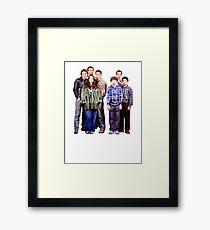 Freaks and Geeks Framed Print