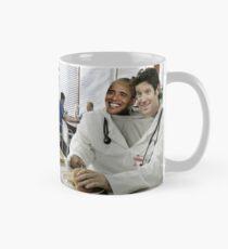 Friendship Goals | Barack and Joe in their scrubs Mug