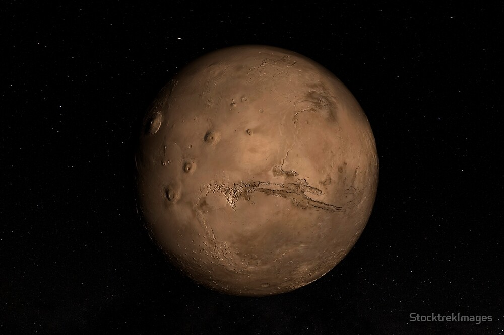 Planet Mars von StocktrekImages