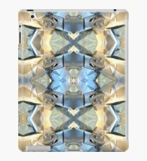 Blue And Gold Pattern iPad Case/Skin